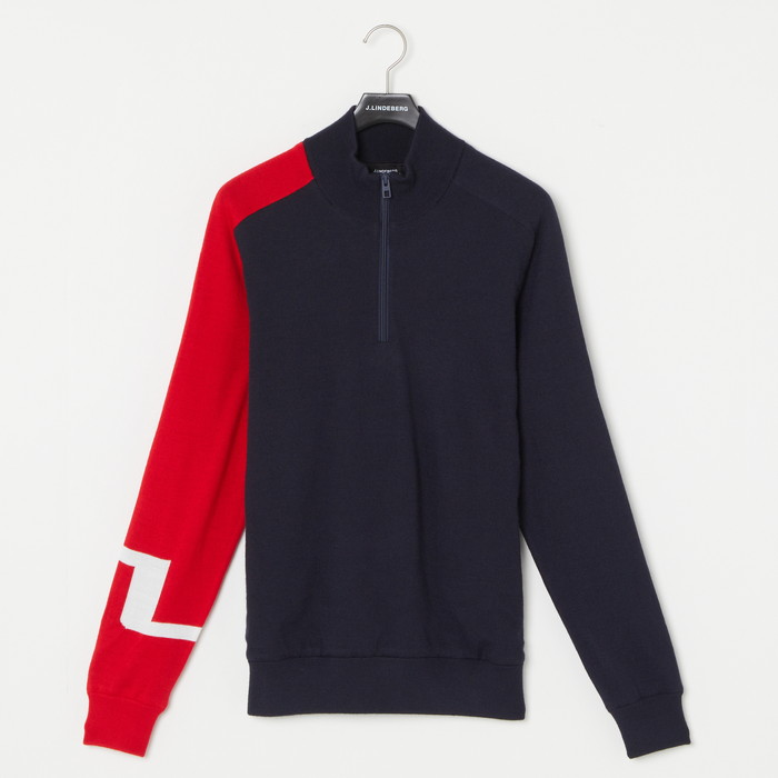 M27C Alexis Zipped Golf Sweater