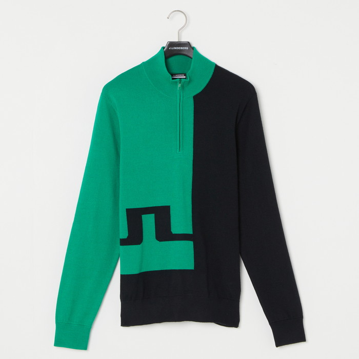 M27A Pierre Zipped Golf Sweater